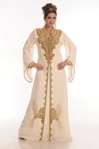 Gamis Abaya Maroko Sari India maxim creation women s georgette kaftan farasha medium