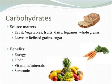 carbohydrates benefits seeing nutrition clearly examination of current