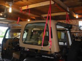 Jeep Wrangler Hardtop Lift Wrangler Top Hoist