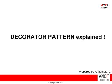 pattern making slideshare design patterns decorator pattern