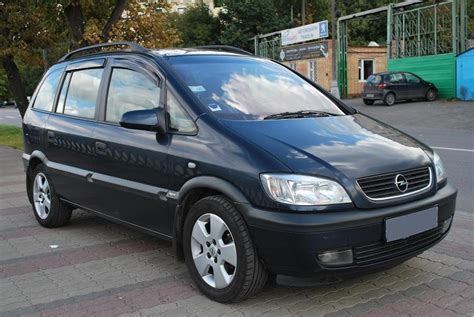 opel zafira 2002 2002 opel zafira pictures 2 2l diesel ff manual for sale