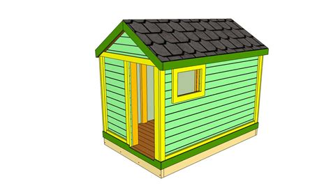 free play house plans wooden playhouse plans howtospecialist how to build step by step diy plans