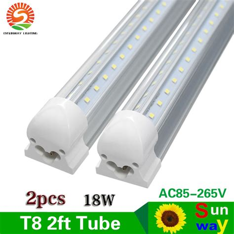 2 feet led tube light aliexpress com buy sunway integrated t8 60cm 2ft led