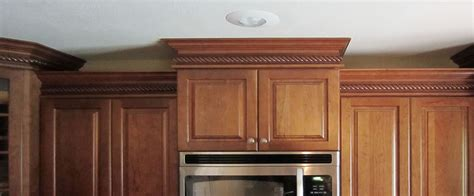 How To Cut Crown Molding For Kitchen Cabinets Pretty Crown Molding Kitchen Cabinets On Get Inspired Kitchen Mini Makeover Ideas How To Nest