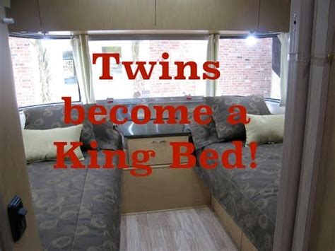 beds into a king airstream converting beds into a residential king