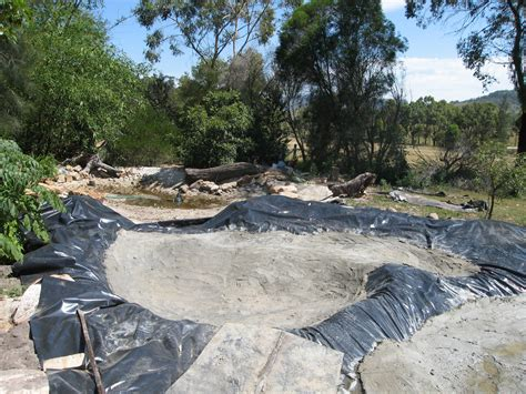 pond building wallis creek watergarden