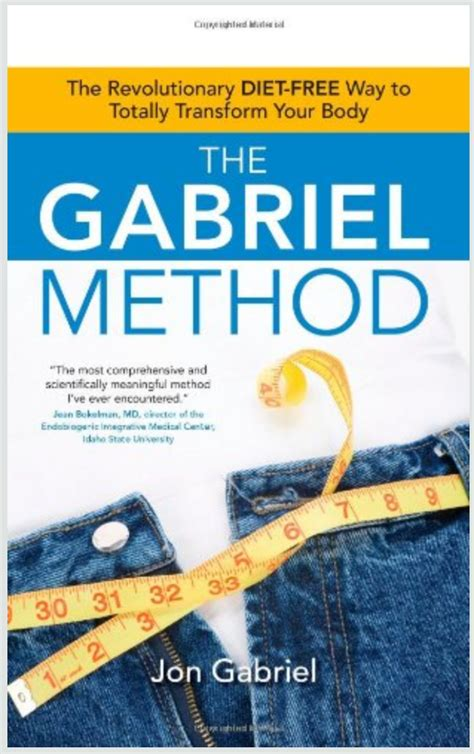 What Is Jon Gabriel S Detox Cleanse by Gabriel Method Weight Loss The Holistic Way