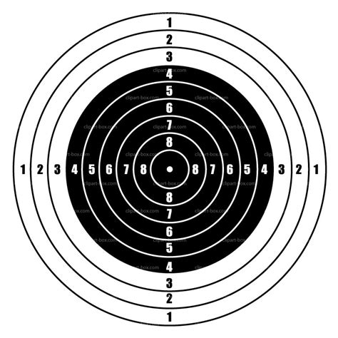 printable targets for bb guns target clipart bb gun pencil and in color target clipart