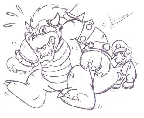 free coloring pages of mario mario kart bowser