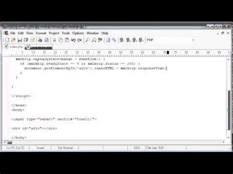 php tutorial youtube channel 173 loading in file contents to a div part 2 php tutorials