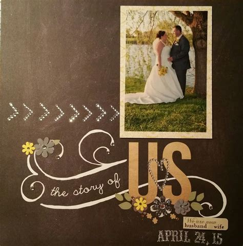 Wedding Anniversary Album Ideas 627 best scrap wedding engagement anniversary couples