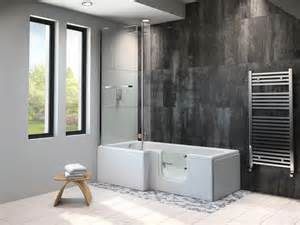 Large Shower Bath the larimar walk in bath essential bathing