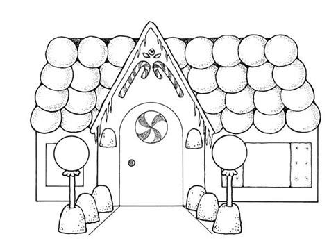 detailed gingerbread house coloring pages gingerbread house with so many balloons coloring page