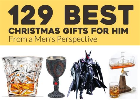 129 best christmas gifts for men in 2017 from a men s