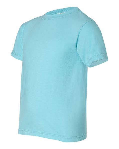 Comfort Colors T Shirt Colors by Comfort Colors 9018 Youth Pigment Dyed Ringspun T Shirt