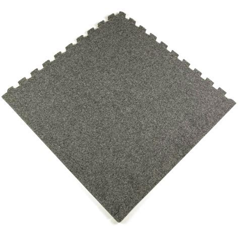 Royal Interlocking Carpet Tile with borders.