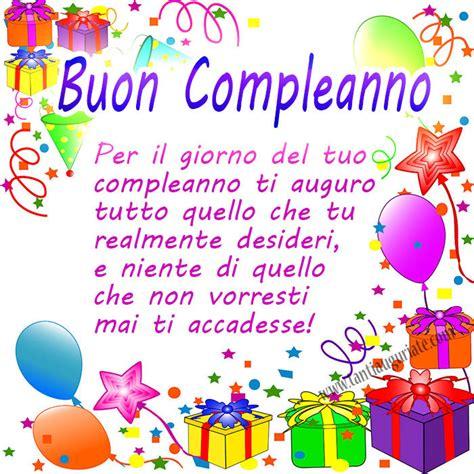 auguri di compleanno di buon compleanno pensierini