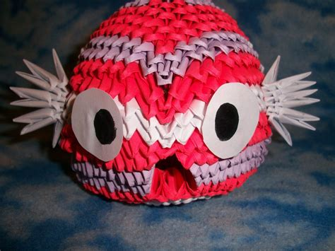3d Origami Koi Fish - 3d origami koi fish by rescue is possible on deviantart