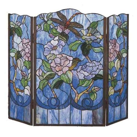 Stained Glass Fireplace Screens Sale by 17 Best Images About Fireplace Screens On