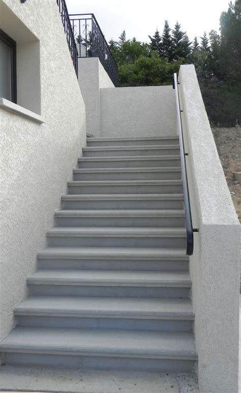 Escalier Moderne Exterieur by Escalier Ext 233 Rieur En B 233 Ton Pr 233 Fabriqu 233 Sur Mesure