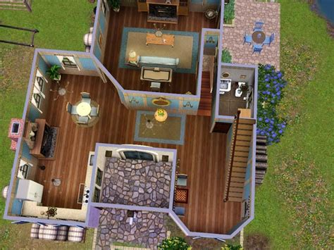 floor plans for sims 3 sims 3 family home floor plans