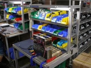 supermarket cell layout lean plant layout case study roband food service equipment