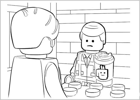 lego movie coloring pages benny ausmalbilder f 252 r kinder the lego movie 26