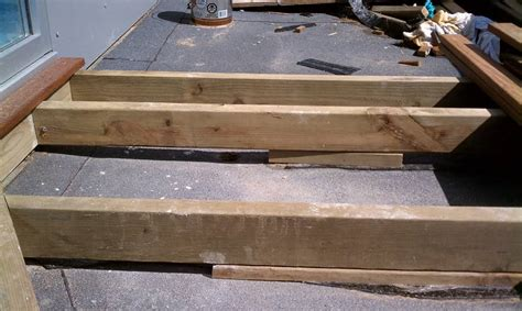 Sleeper Deck Construction by Deck Building Deck Building Sleepers