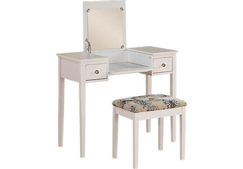 Vanity Set With Mirror And Stool by Falls White Vanity Mirror And Stool Set Accent