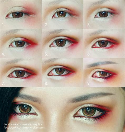tutorial makeup cosplay male cosplay eyes makeup by mollyeberwein on deviantart
