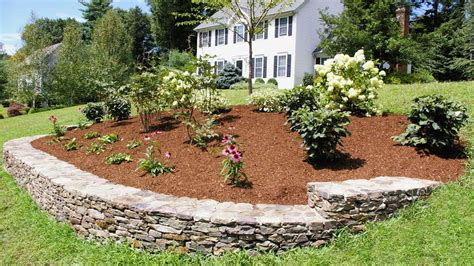 landscaping ideas   front yard  berm  curb appeal