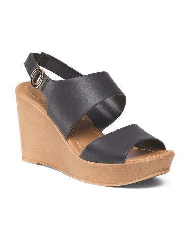 Wedges Ban 2 two band wedge sandal sandals 25 t j maxx