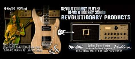Randall Guitar Ilfier Nb 15 luthier guitar nbking 100 all nuno s