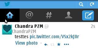 cara membuat twitter lewat opera mini cara upload foto gambar picture ke twitter menggunakan