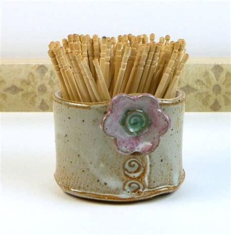 Toothpick Holder by Handmade Pottery Picmia