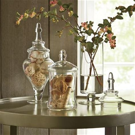 apothecary home decor set of 3 apothecary jars from seventh avenue d9720307