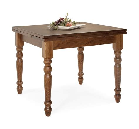 sedie tavolo tavoli in pino tavolo allungabile 80x80 arredamenti rustici
