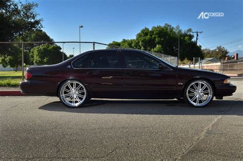 "1996 Chevy Impala SS on 22"" AC Forged Wheels Split 10"