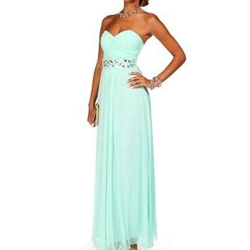 mint beaded dress macaria mint beaded prom dress from