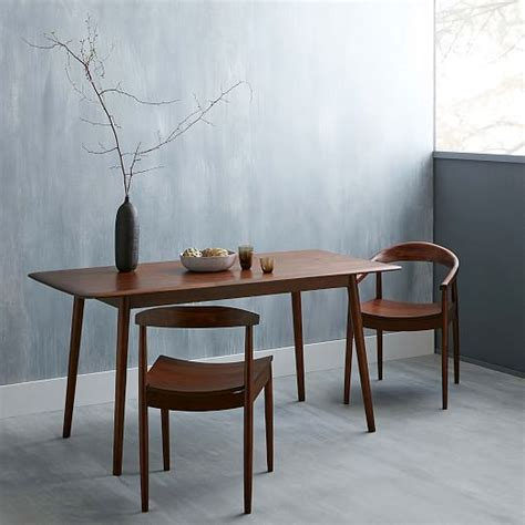 west elm dining tables lena mid century dining table west elm