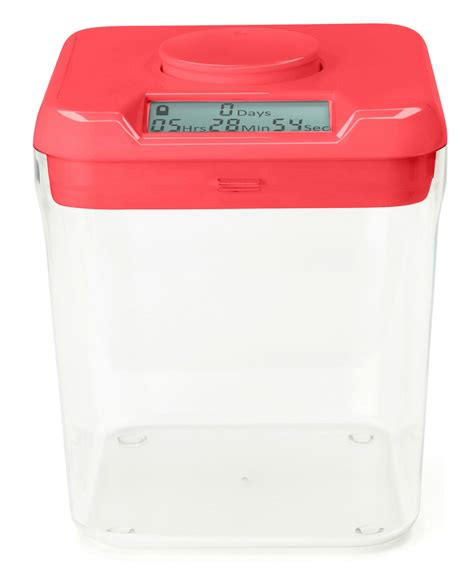 The Kitchen Safe by Ksafe Pink Lid Clear Base Ksafe By Kitchen Safe