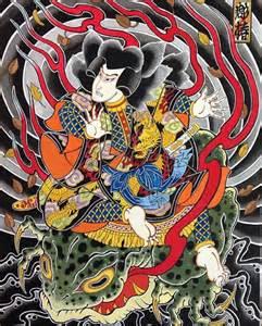Jiraiya horitsubaki tattoo
