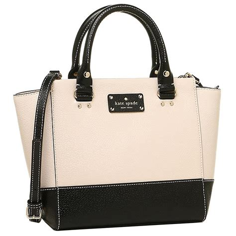 Authentic Kate Spade Preloved 2 authentic kate spade wellesley small camryn leather handbag satchel black at modaqueen