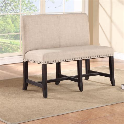 Upholstered Bench Back Dining Room Inspiring Design Ideas Using Bench With Back