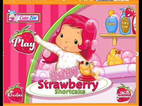 strawberry shortcake bathroom set strawbery shortcake bath game for kids play with baby