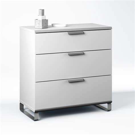 commode cuisine commode de cuisine bakaji commode 3 tiroirs 76 x 40 x 30