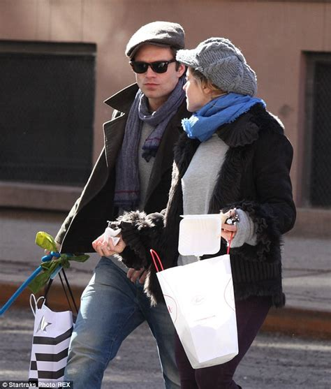 How I Met Your Mother Apartment sebastian stan shares a kiss with margarita levieva on