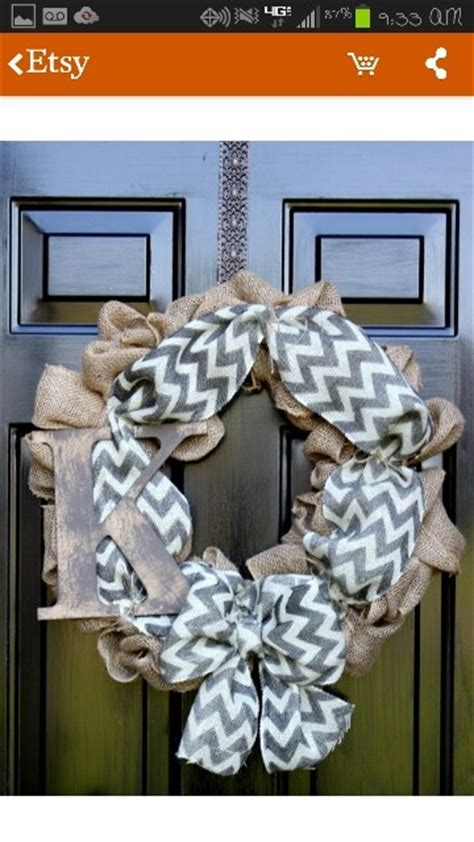 Front Door Reefs 17 Best Images About Door Reefs On Initials Wreaths For Door And Gray Chevron