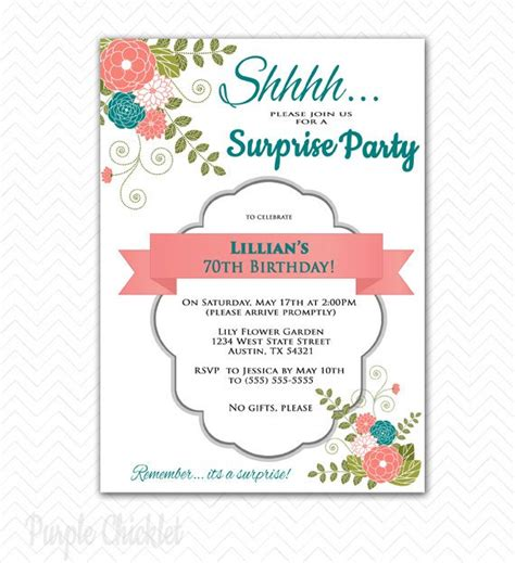 free template for 70th birthday invitation 70th birthday invitations free printable