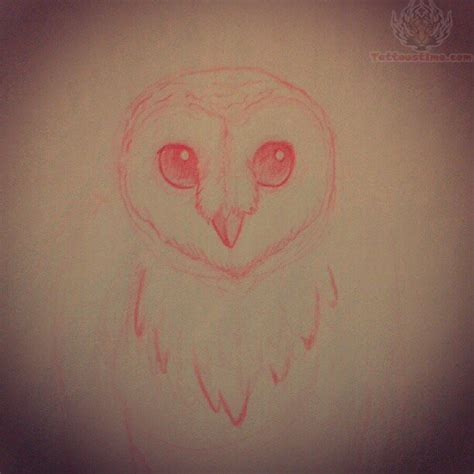 tattoo eyes red red eyes owl tattoo